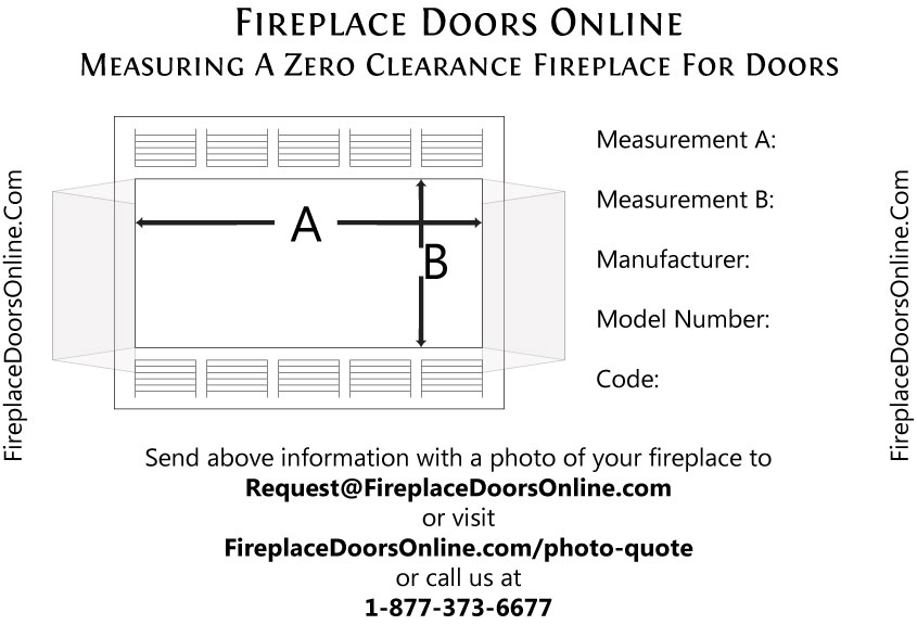 Majestic Replacement Fireplace Doors