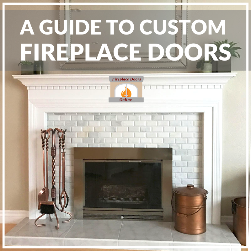 Marvelous An Detailed Guide To Choosing Your Custom Fireplace Doors Download Free Architecture Designs Rallybritishbridgeorg