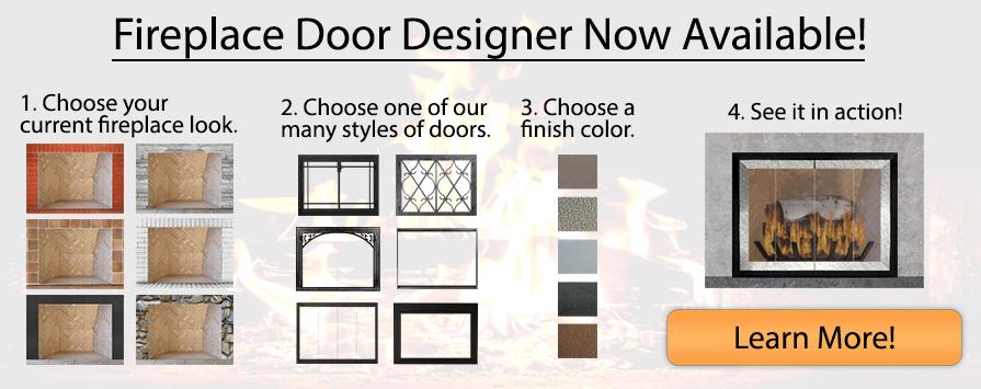 Fireplace Door Designer Now Available