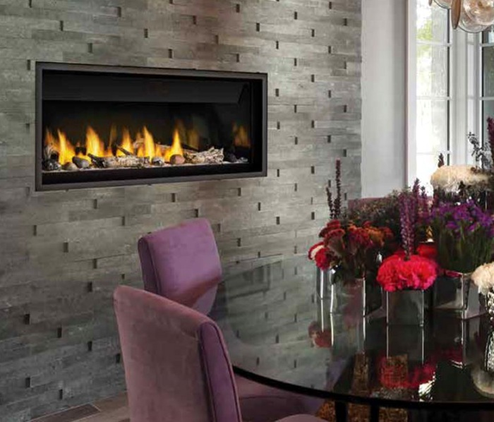 """46"""" Ascent Series Linear Direct Vent Fireplace"""