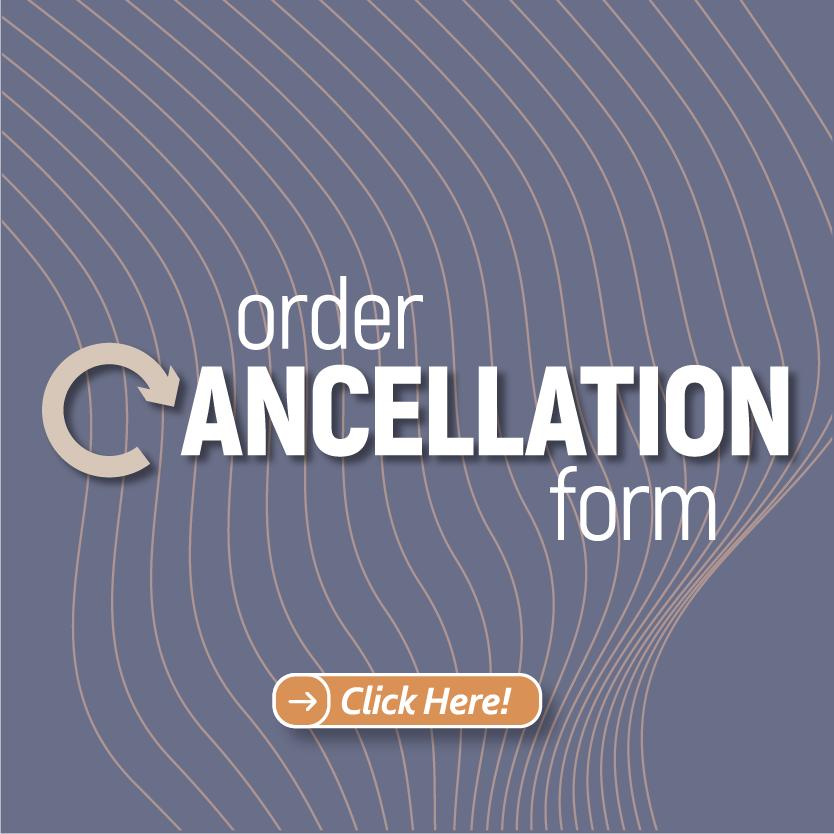 Order cancellation form