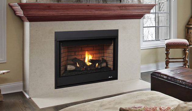 """40"""" Superior Direct Vent Fireplace"""