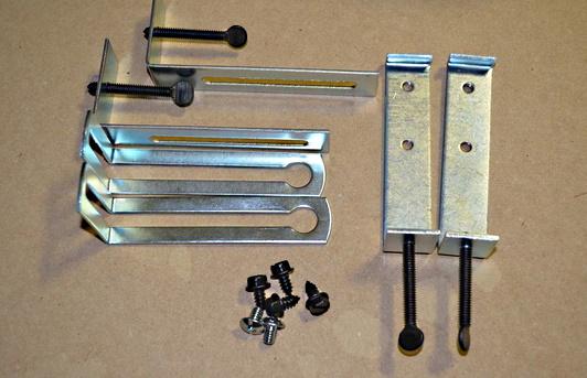 Fireplace Door Mounting Kit | Fireplace Door Clips