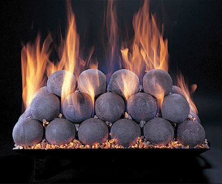 Alterna Fire Balls For See Thru Fireplaces