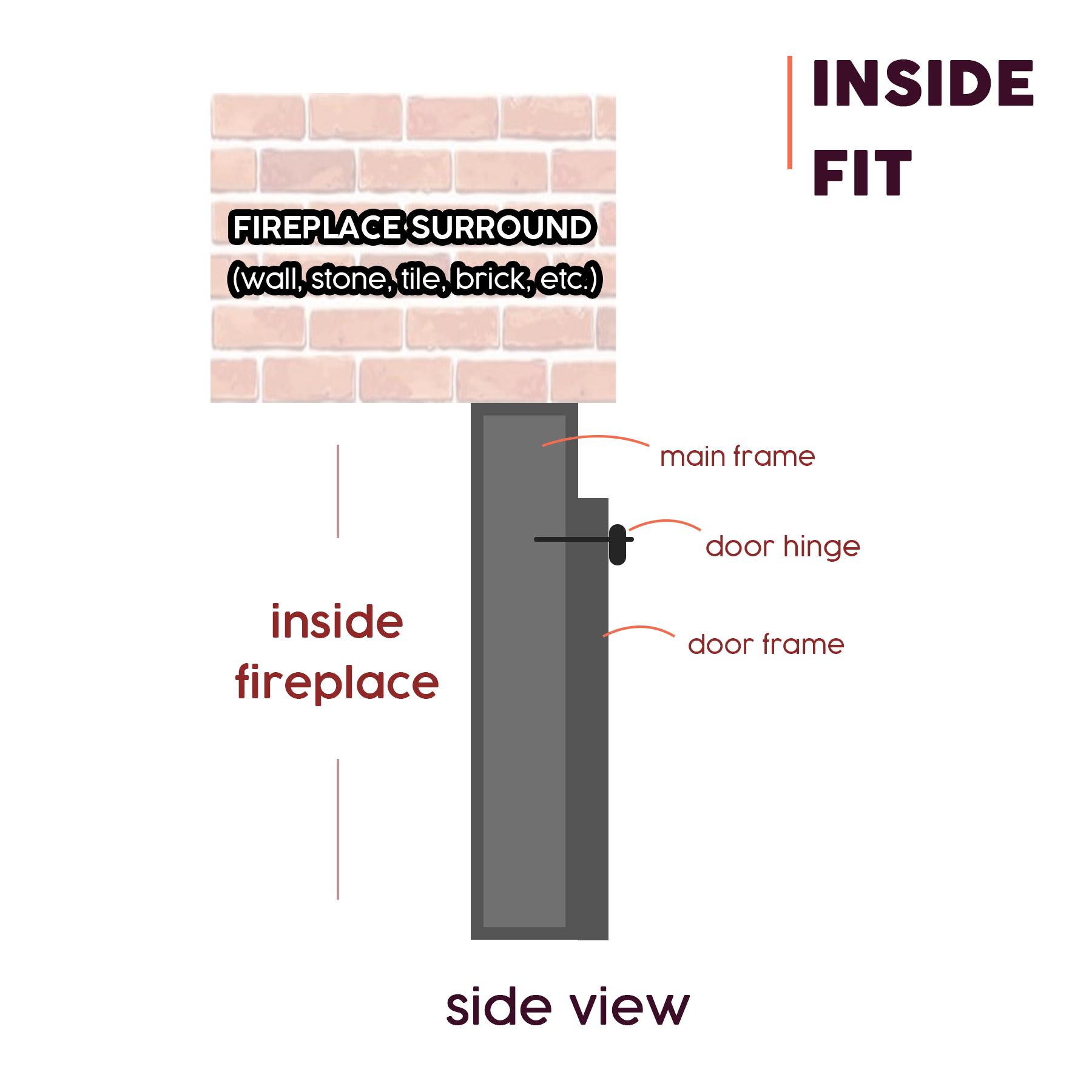 Inside Fit Masonry Doors
