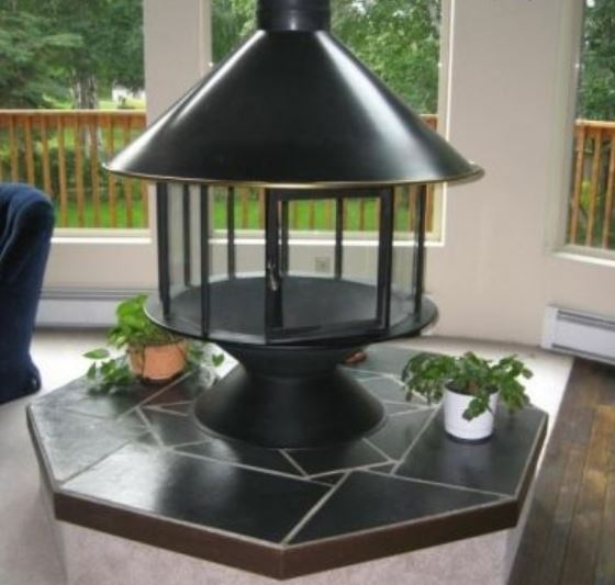 Malm Carousel Fireplace