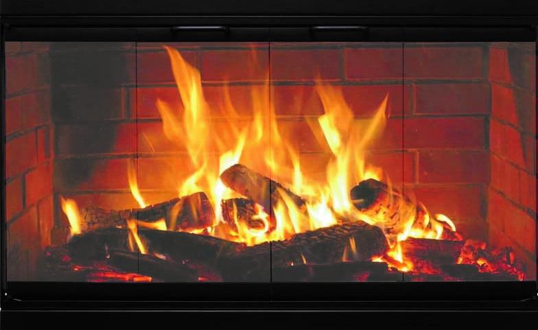 Norwegian Z Prefab Fireplace Door