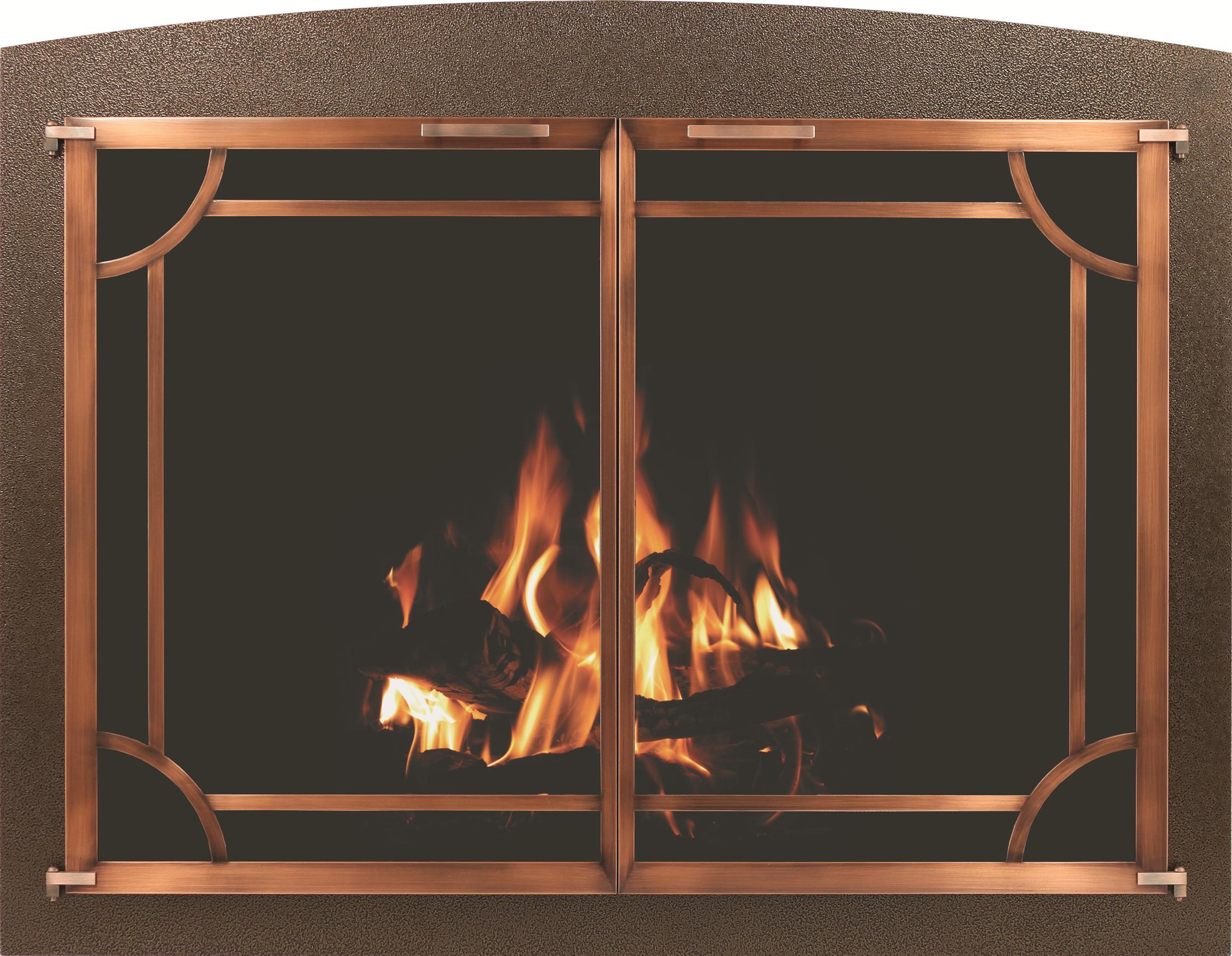 Cascade Masonry Plated Fireplace Door