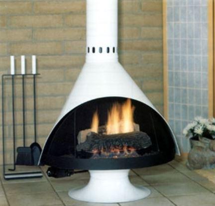 Malm B Vent Zircon Fireplace