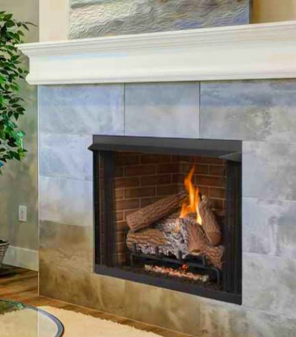 """42"""" Superior Vent Free Fireplace"""