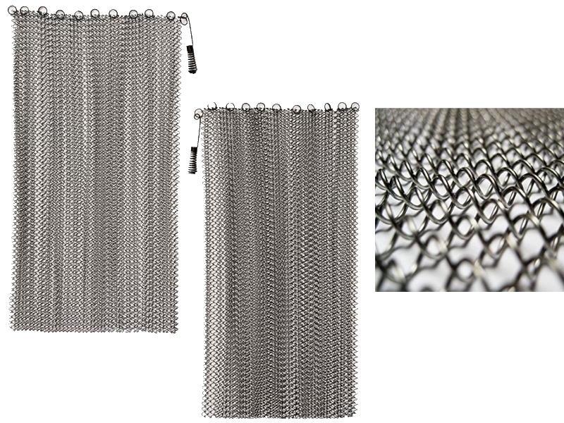 Stainless Steel Fireplace Mesh