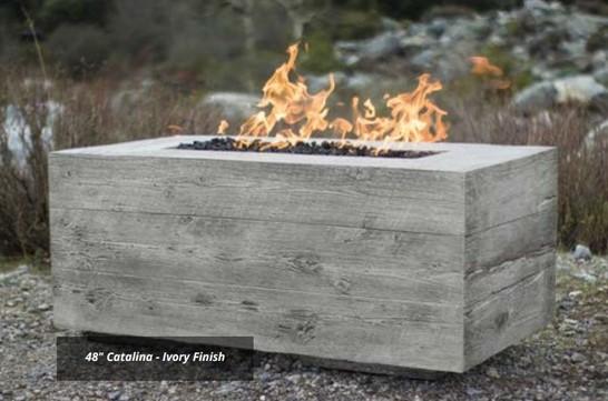 "48"" Catalina GFRC Fire Table"