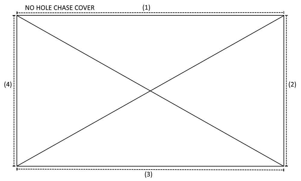 No Hole Chase Cover Diagram
