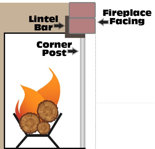 Measure the depth of your lintel bar!