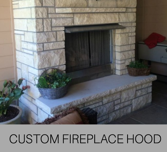 Custom Fireplace Hood