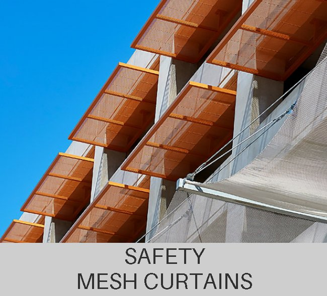 Custom Safety Mesh Curtains