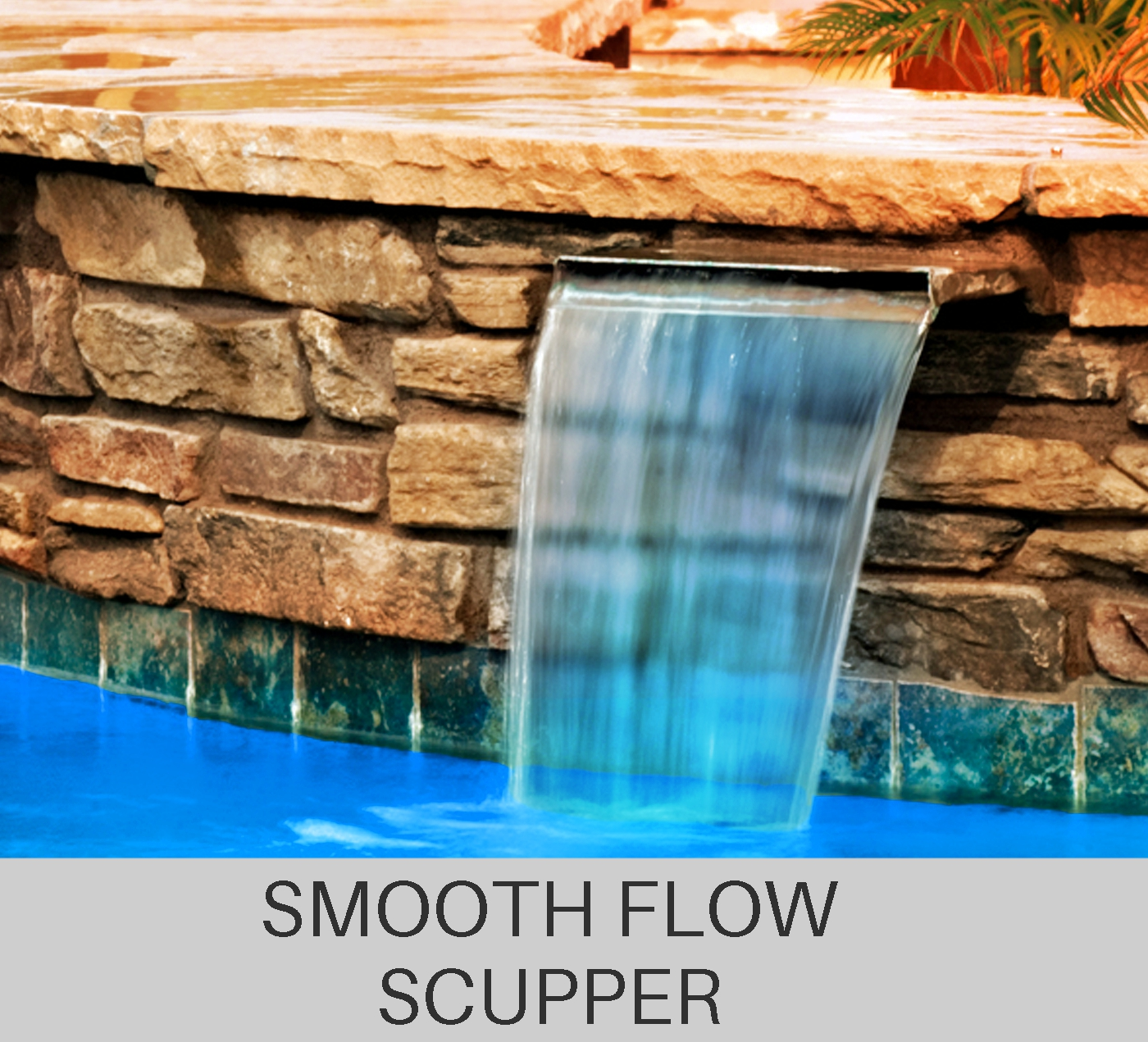 Custom Smooth Flow Scupper