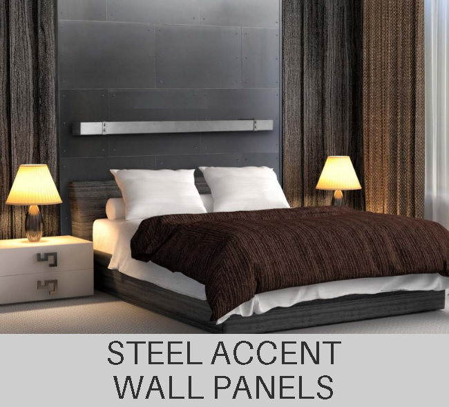 Custom Steel Accent Wall Metal Panels