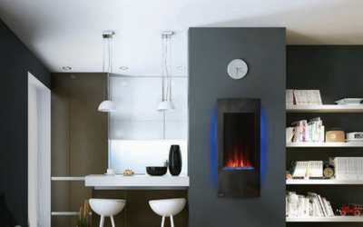 Electric fireplaces for apartment buildings