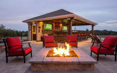 Fire pits and urns for architects and contractors