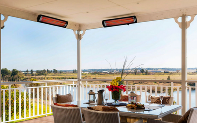 Outdoor patio heaters for architects and contractors