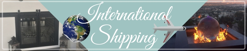 Fireplace Doors Online can help with international freight shipping!