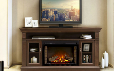 Napoleon Fireplaces makes great and complete fireplace kits