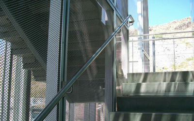 Our custom safety mesh can be used as an extra layer of security at your home or business
