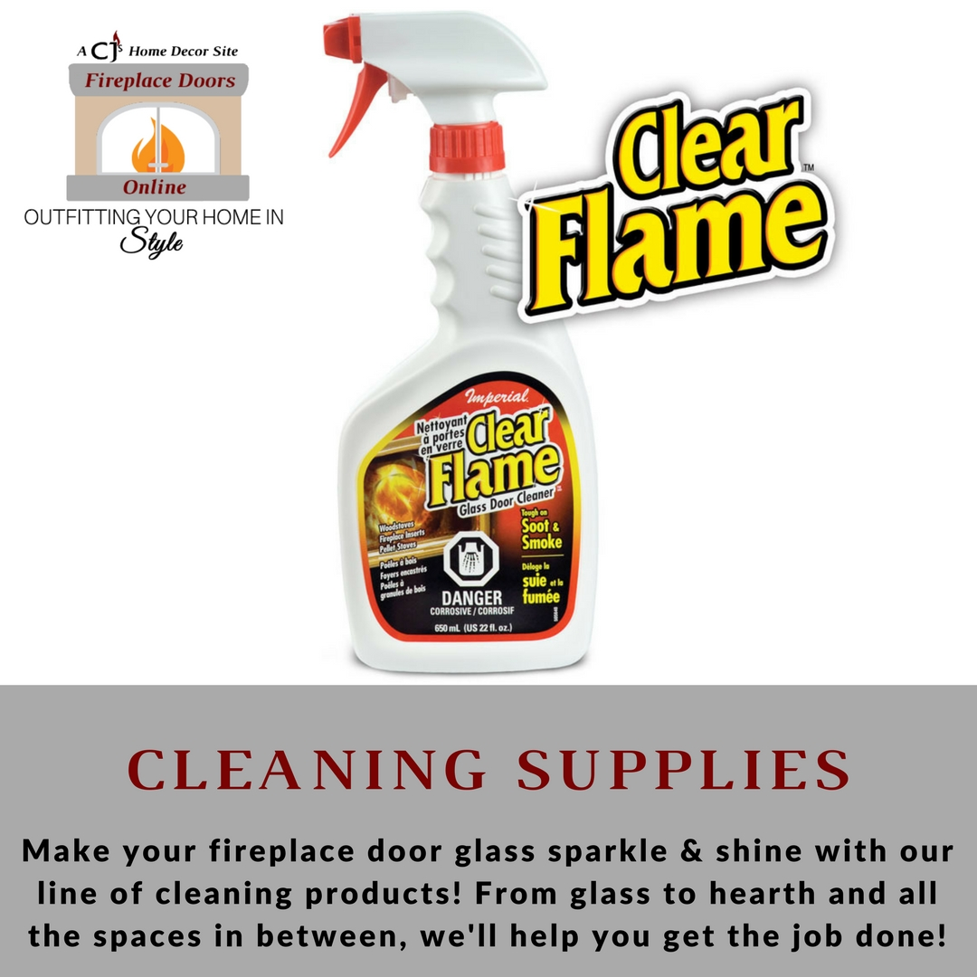 Cleaning Products for your stove, fireplace door & hearth!