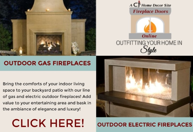 Our Outdoor Fireplace Line can be found in our Fireplace category!