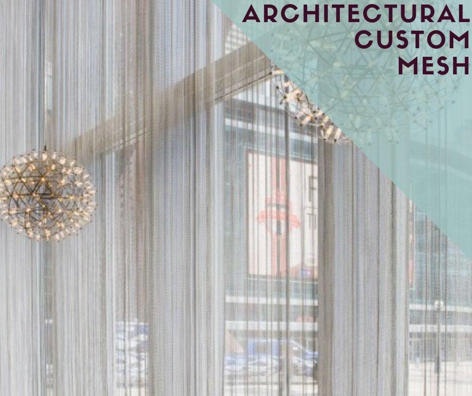 Custom Architectural Drapery Mesh