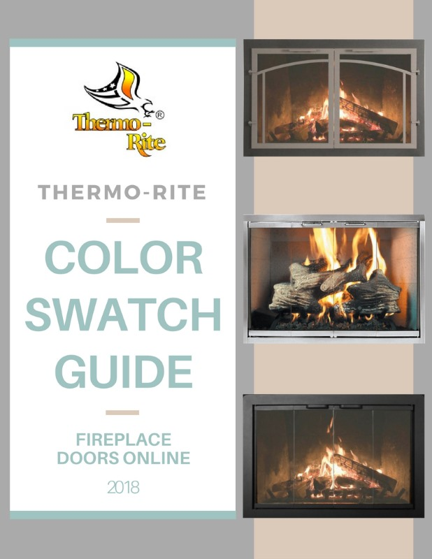 Thermo Rite color swatch guide for fireplace doors flipbook