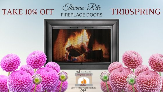Thermo-Rite fireplace doors - 10% off!