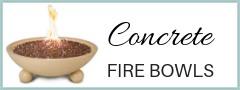 Concrete Fire Bowls
