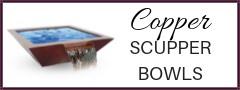 Copper Scupper Bowls