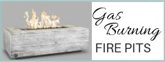 Gas Burning Fire Pits