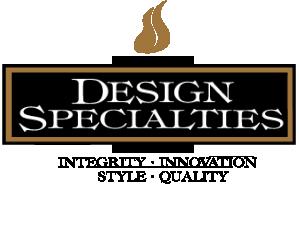 Design Specialties glass fireplace doors