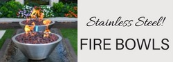 Stainless Steel Fire Bowls