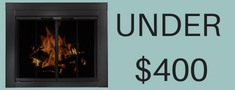 Under $400 fireplace doors