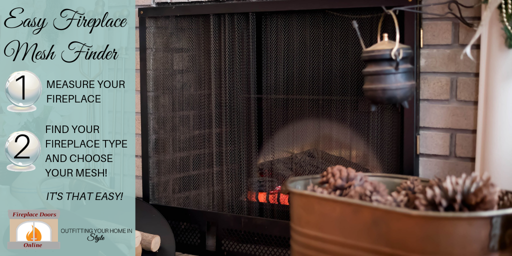 Easy fireplace mesh finder!