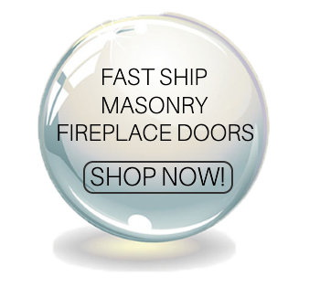 Fast Ship Masonry Fireplace Doors