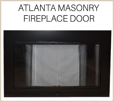Atlanta replacement fireplace door for masonry fireplaces - buy now!