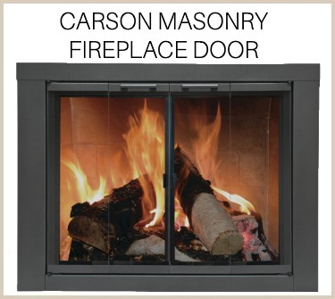 Carson door for masonry fireplaces - buy now!