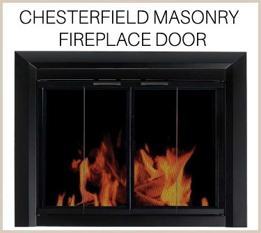 The new Chesterfield fireplace door is locked in at low contractor pricing! Buy now!