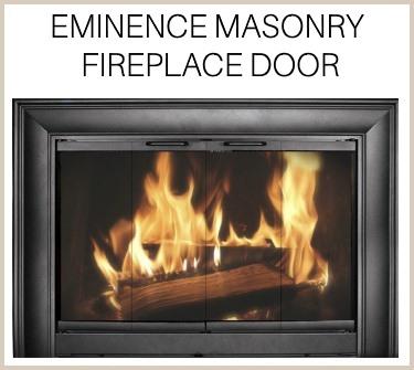 The new Eminence fireplace door is a Fireplace Doors Online original! Buy now!