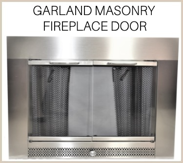 Garland replacement fireplace door for masonry fireplaces - buy now!