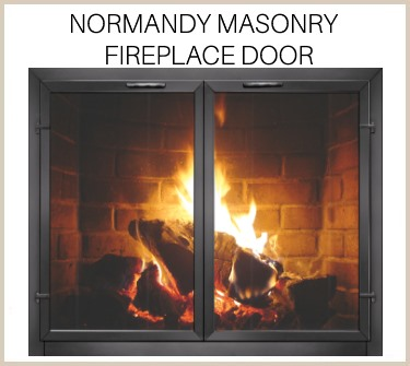 Check out the elite Normandy replacement fireplace door for masonry fireplaces. Buy now!