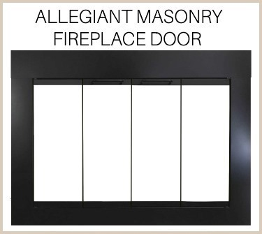 Allegiant door for masonry fireplaces - buy now!