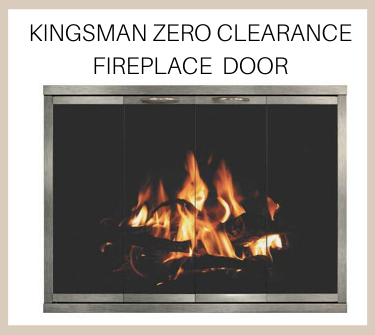 Shiloh zero clearance fireplace door features an impressive view! Buy now!