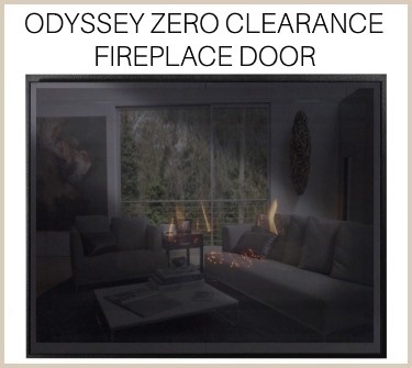 The Odyssey provides a tapestry for your prefab fireplace. Buy it now!